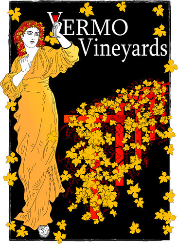 Yermo Vinyards Logo and Label
