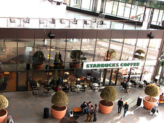 An ode to corporate culture (sonykus) Tags: life people glass coffee shop architecture facade mall corporate space entrance culture coffeeshop starbucks romania globalization transylvania globalisation volume kolozsvar cluj clujnapoca erdely everiday iulius