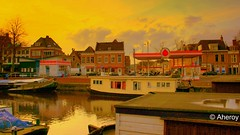 Groningen stad,..the Netherlands,Europe. (Aheroy) Tags: city color art water netherlands dutch architecture town europe colours arts nederland surreal groningen stad beautifull townview aheroy aheroyal