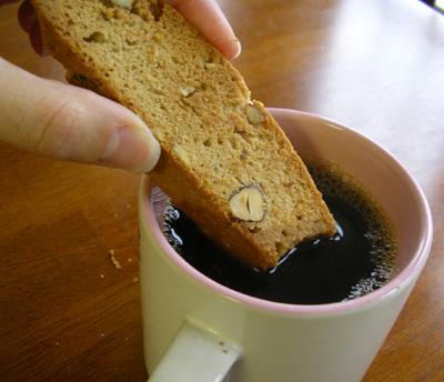 eating in: Cinnamon Hazelnut Biscotti