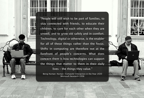 humans and technology by Will Lion, on Flickr