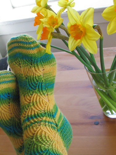 Daffodil Socks