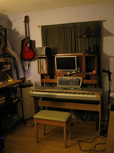 a hero shot of the piano hutch in its current environment