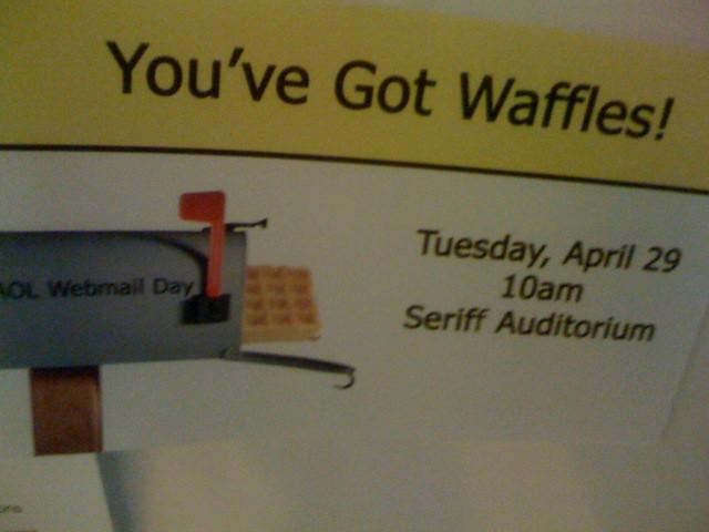 Free Waffle Day @ AOL