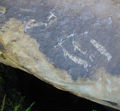 Bushman Paintings in the Drakensberg