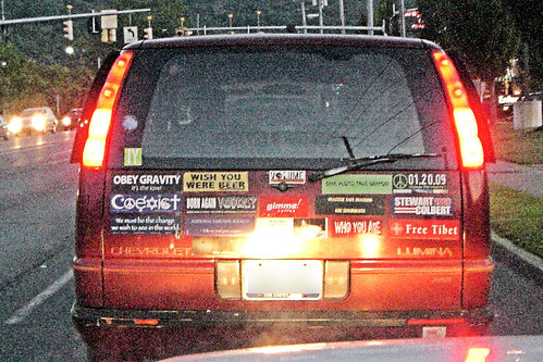 A Plethora of Bumper Stickers