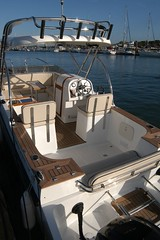TT on the dock (Thaicats Powered Catamarans) Tags: catamarans davelewis thaicats seaangler thaicatscc