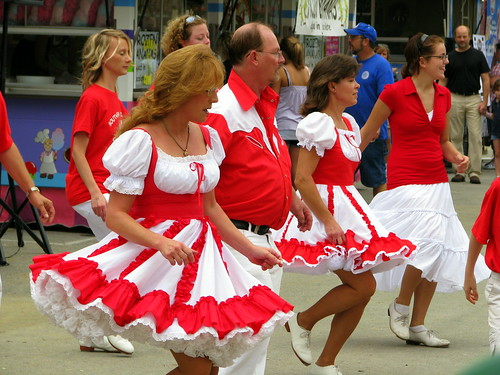 100 Things to see at the fair #92: Cloggers