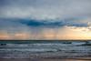 Storm over Sandy (JustaMonster) Tags: beach sandy coffs storm ocean
