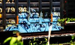 *_* (mightyquinninwky) Tags: overgrown geotagged graffiti weeds kentucky tag tracks tags tagged rails spraypaint graff tap graphiti gravel orton trainart opendoor westernkentucky paintedtrain railart kerse hendersonkentucky hendersoncountykentucky hecz paintedboxcar geo:lat=37838886 geo:lon=87566013