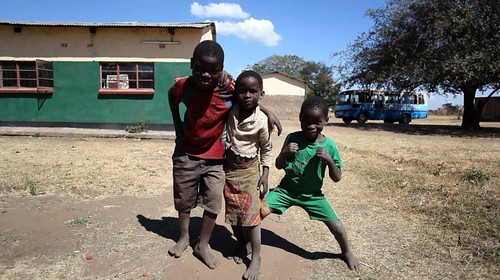 Kids in Mfuwe Zambia