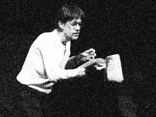 Lecture les Cohortes improbables à Noyon (c) Caroline Flamant