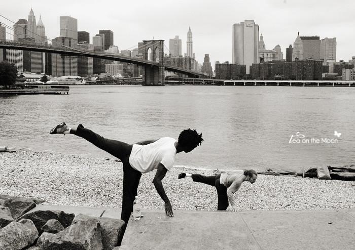 Angle obtús i artístic a Brooklyn
