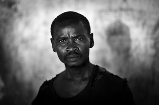 Displaced  man  - DR CONGO -