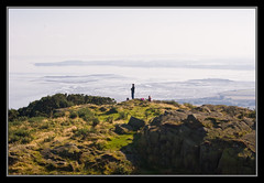 Looking out over Strangford Lough (Etrusia UK) Tags: macro castle photoshop geotagged landscapes nikon sigma apo northernireland 70300mm dg pictureperfect ulster countydown strangford scrabo smrgsbord strangfordlough ards codown northdown sigma70300mm d80 70300mmapodgmacro sigma70300mmapodgmacro picswithframes naturewatcher ardspeninsular mailciler geo:lat=54583106 geo:lon=5718470