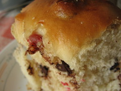 Cranberry-Chocolate Sweet Buns