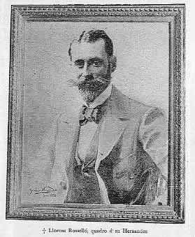 Llorens Rosselló, escultor