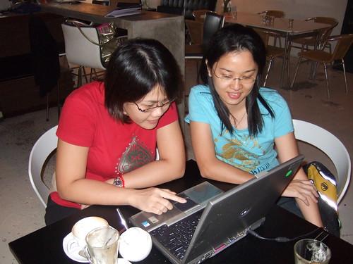 Mei Ling and Mei Yun.
