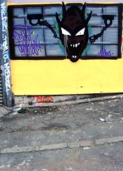 Demon's Eye (Davy Ellis) Tags: graffiti demon toon newcastleupontyne ouseburn