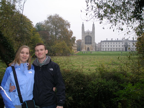David and Jacqueline. King's College