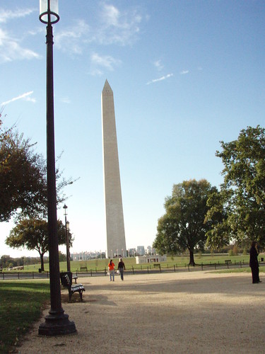 Washington Memorial on the Mall