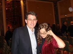 Jay Sears and Sara Houlebeck