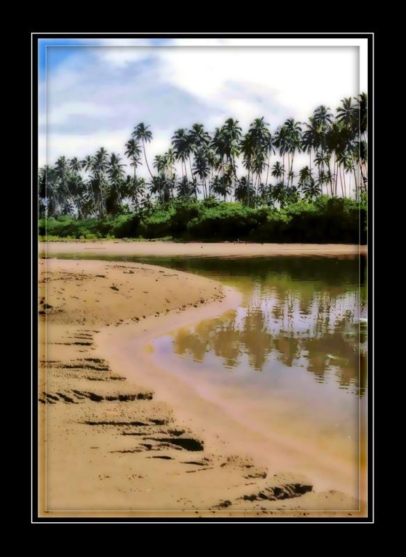 Lombok footsteps