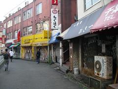 [渋谷]シャッター通り?