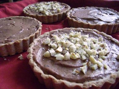 milk chocolate and caramel tart, SAS November