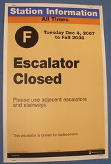 PB200409_Escalator Closed Sign