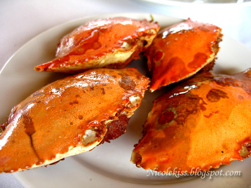 stuffed small crabs