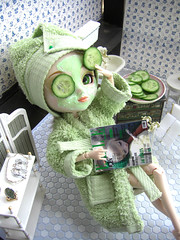 (Bloodberry Jam (Neyrelle)) Tags: green doll pullip academy paja