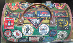 Northern Soul holdall (dlsmith) Tags: manchester casino lancashire atlantic blackburn soul bolton patch northernsoul blackpool patches mods allnighter skinhead wigan burnley motown stax suedehead talc niter holdall twistedwheel allniter nv11 dlsmith blackpoolmecca