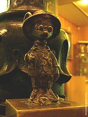 Estatua del Ratoncito Perez .