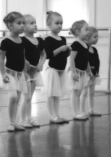 Five Tiny Ballerinas