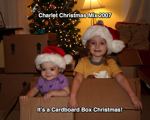 Christmas Mix CD Cover 2007