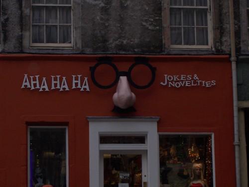 haha joke shop!