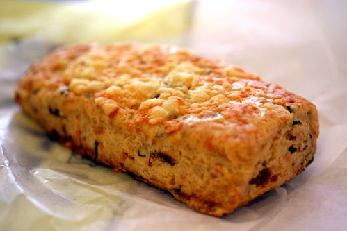 Bacon & Cheddar Chive Scone