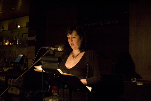 Judy McGuire reads at In The Flesh