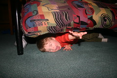 How to Throw a Tantrum Under the Futon 101