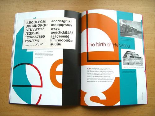 Linotype Matrix 4.3 Helvetica