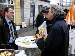 Wahlkampf mit Boris in Dbg