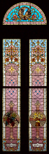 Saint Joseph Shrine, in Saint Louis, Missouri, USA - stained glass window