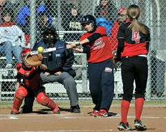 Perfect Timing (chemisti) Tags: nikon varsity softball boyd athlete fastpitch mckinney d300 tokinasl400mmf56sd