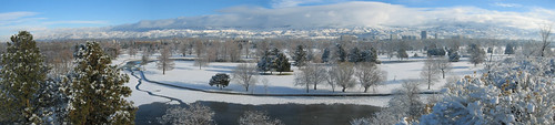 Winter Panorama - Boise