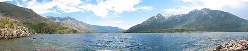 Panorama Lago Epuyen