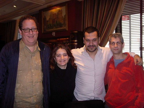 Jeff Pulver, Kathryn Jones, Kfir Pravda & Keren Dagan