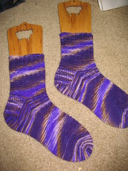 FO: Blueberry Pie Socks