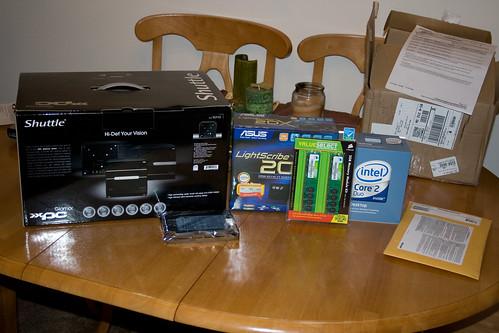 Parts to Aunt #6's Computer
