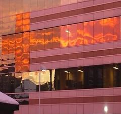 Reflected Sun Rise Edit - Ottawa 02 08